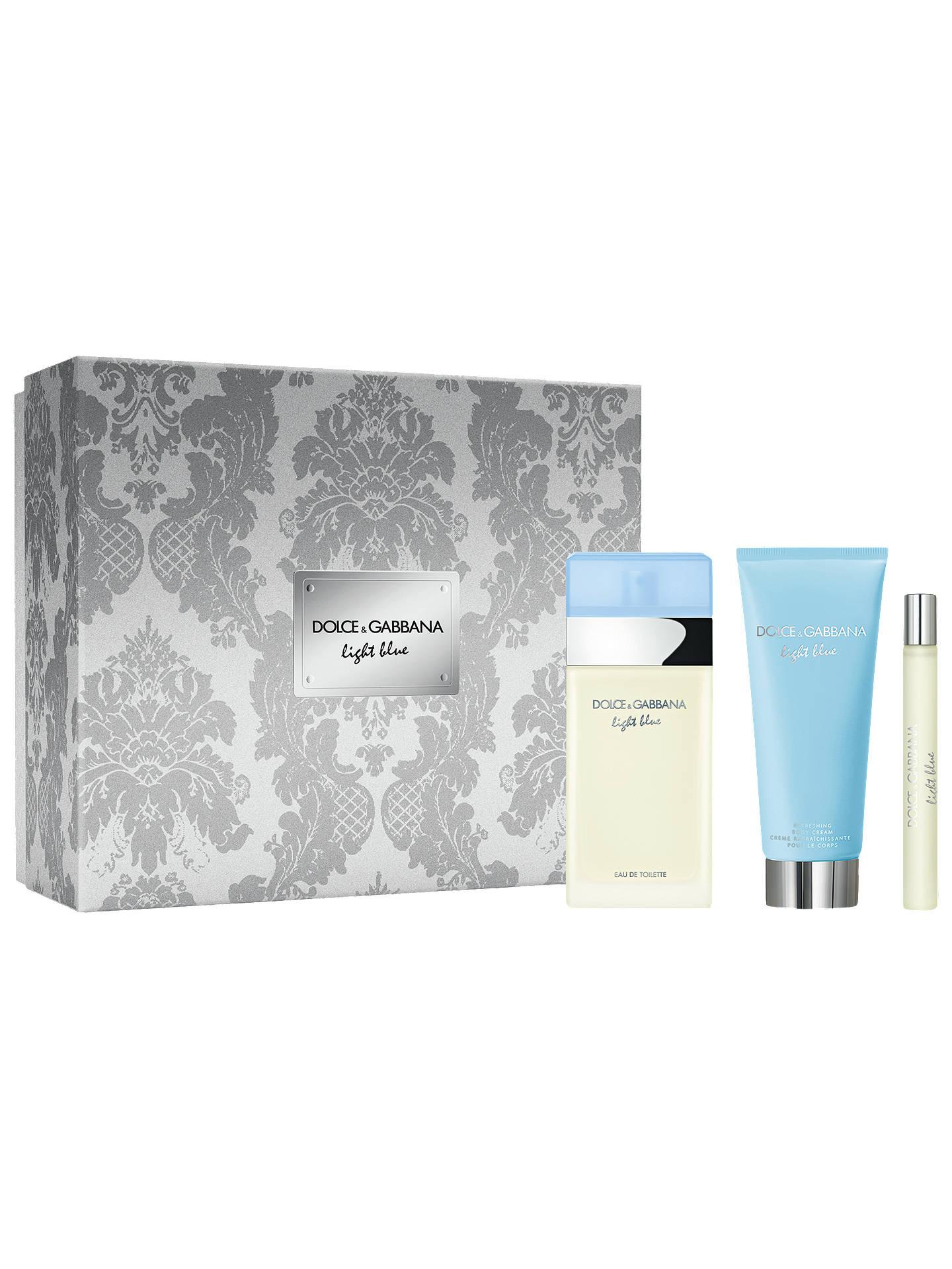 83eb5083 Buy Dolce & Gabbana 100ml Light Blue Eau de Toilette Fragrance Gift Set  Online at johnlewis