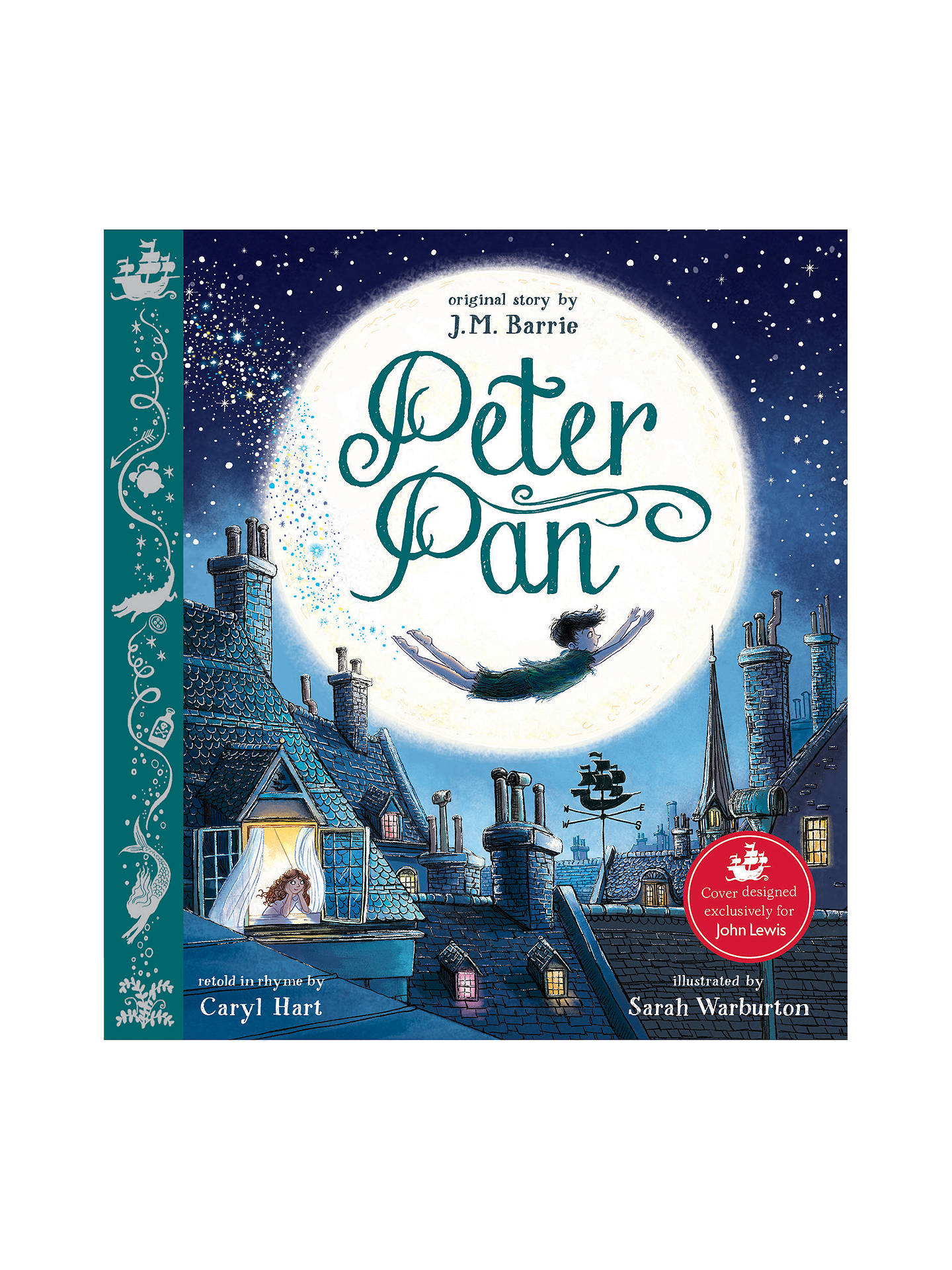 BuyPeter Pan Rhyming Children's Book Online at johnlewis. ...