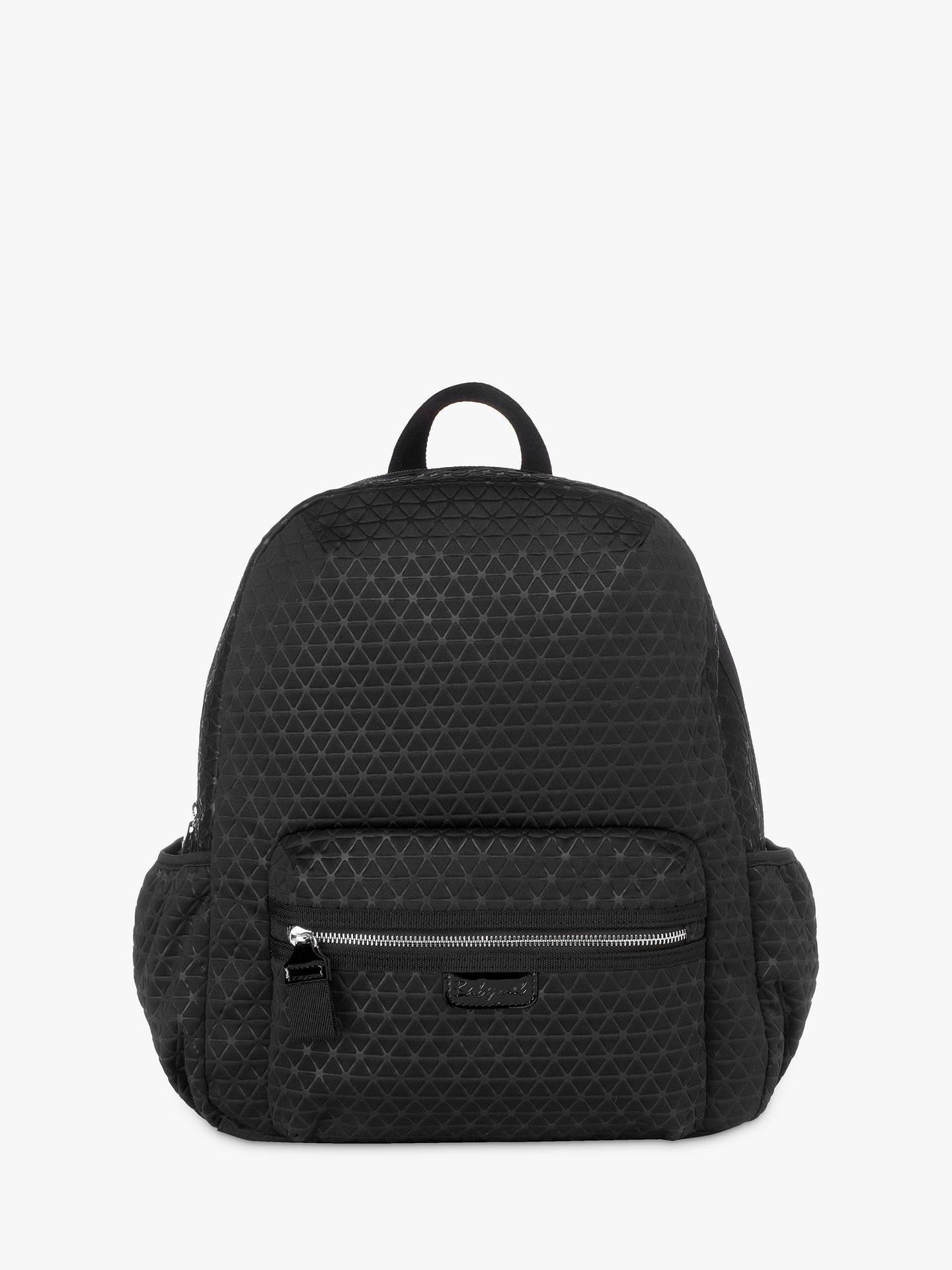 f230c4c6d0920 Buy Babymel Luna Ultra-Light Backpack Changing Bag, Black Scuba Online at  johnlewis.