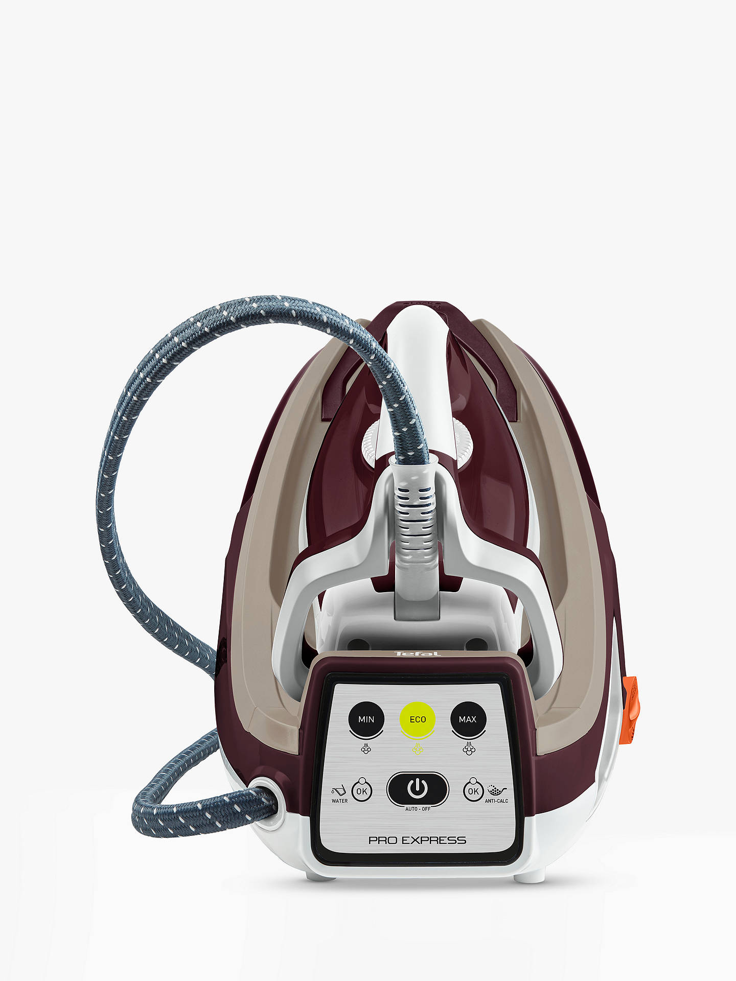 Buy Tefal GV7810 Pro Express Care Steam Generator Iron Online at johnlewis.com