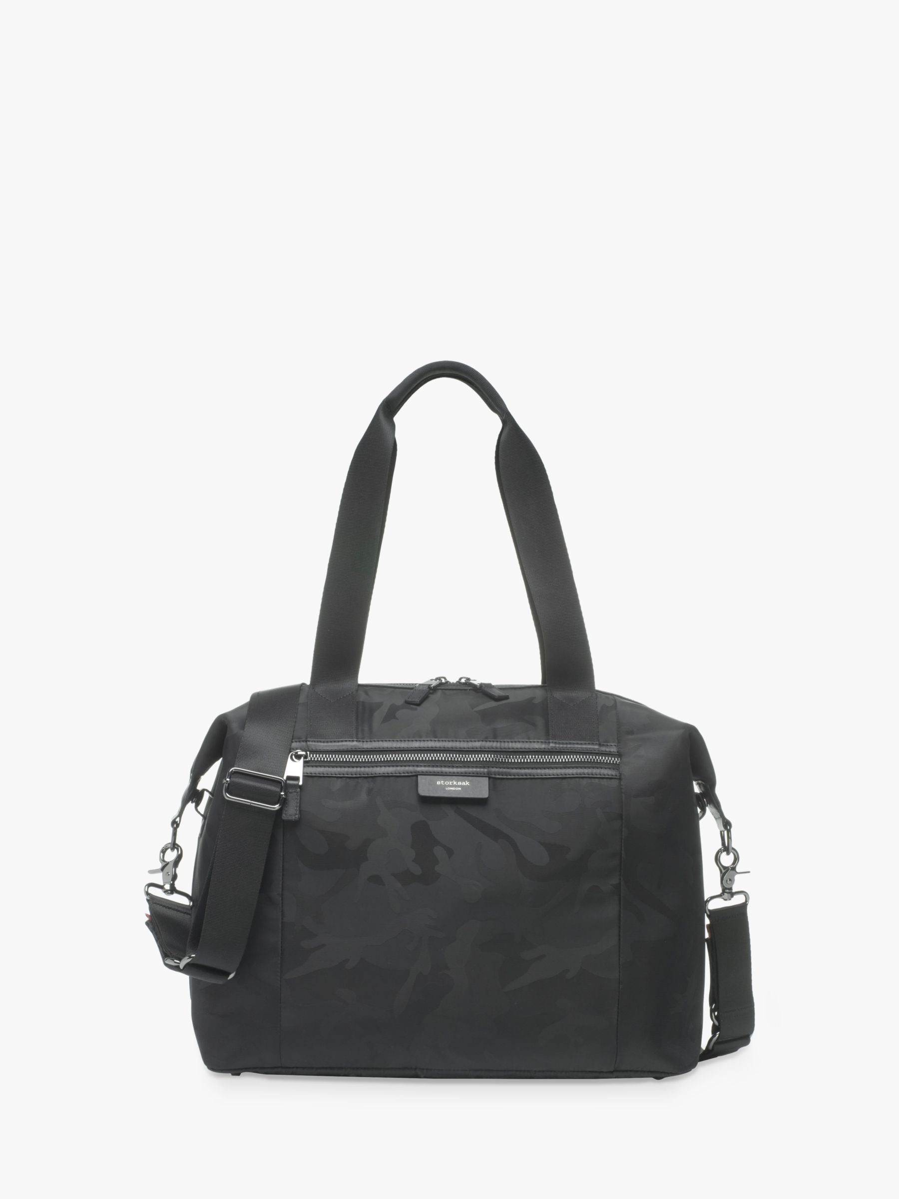 Storksak Storksak Stevie Luxe Changing Bag, Black Camo