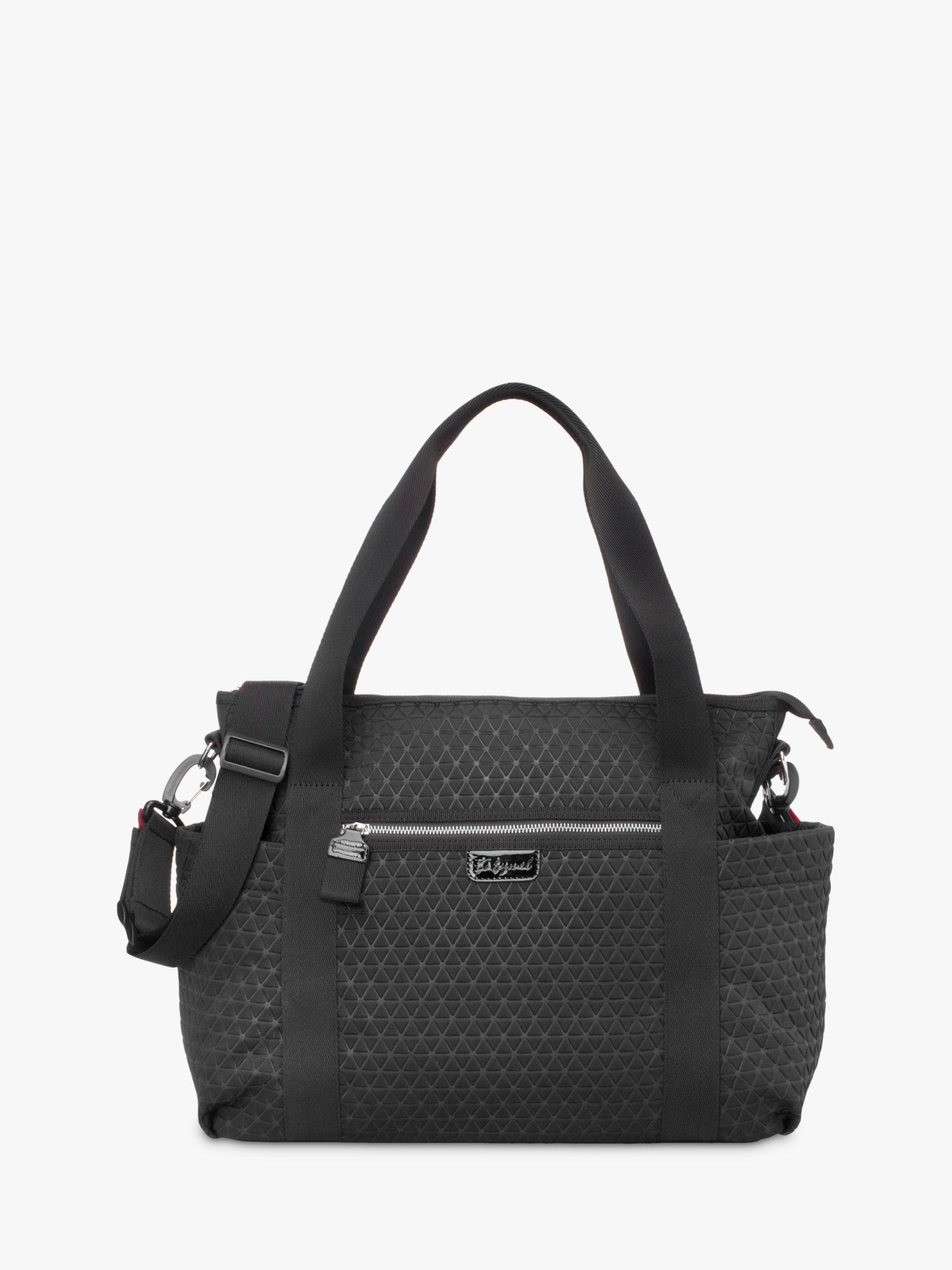 Babymel Babymel Cara Ultra-Lite Changing Bag, Black Scuba