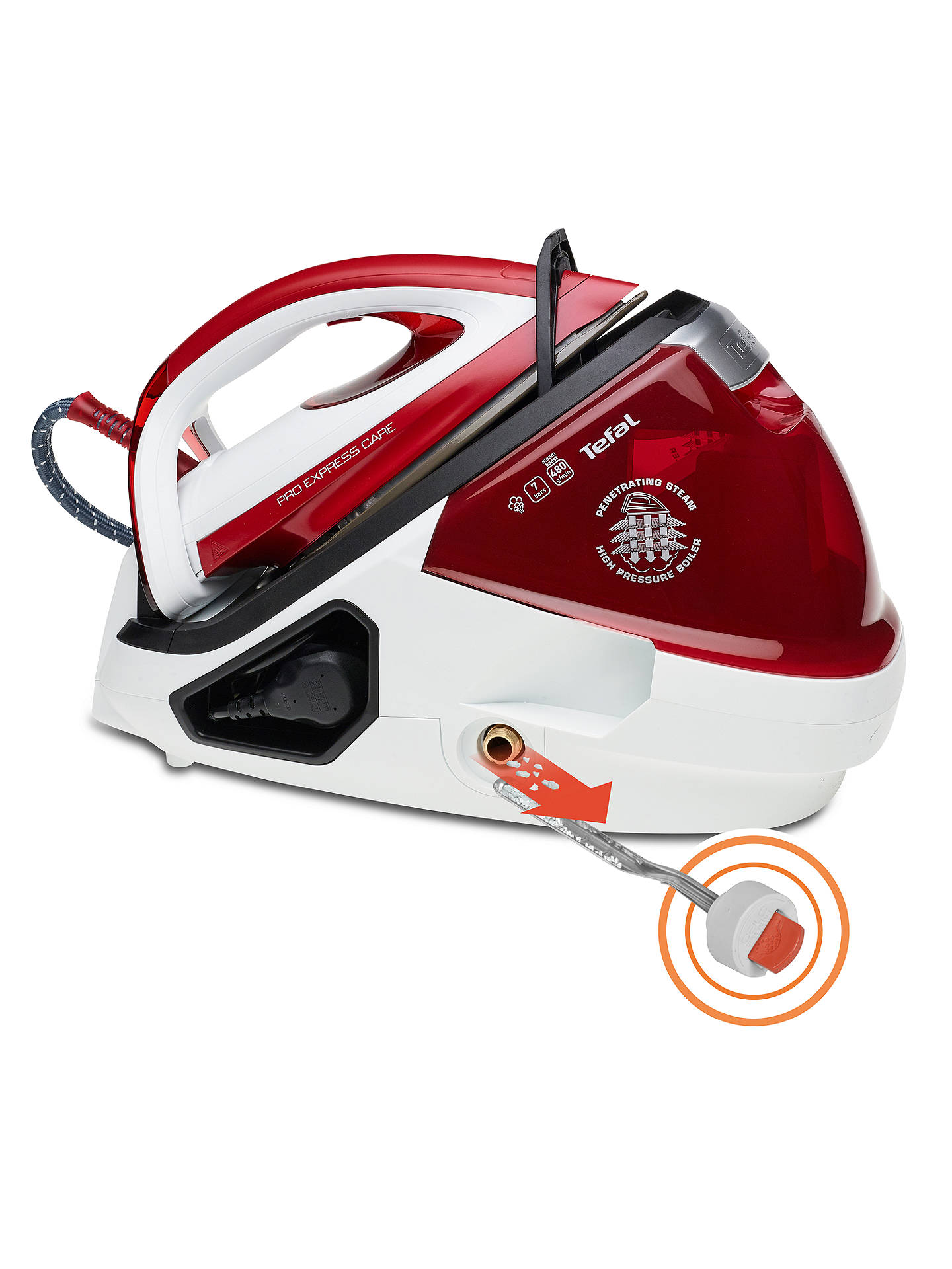 Buy Tefal GV9061 Pro Express Care Steam Generator Iron Online at johnlewis.com