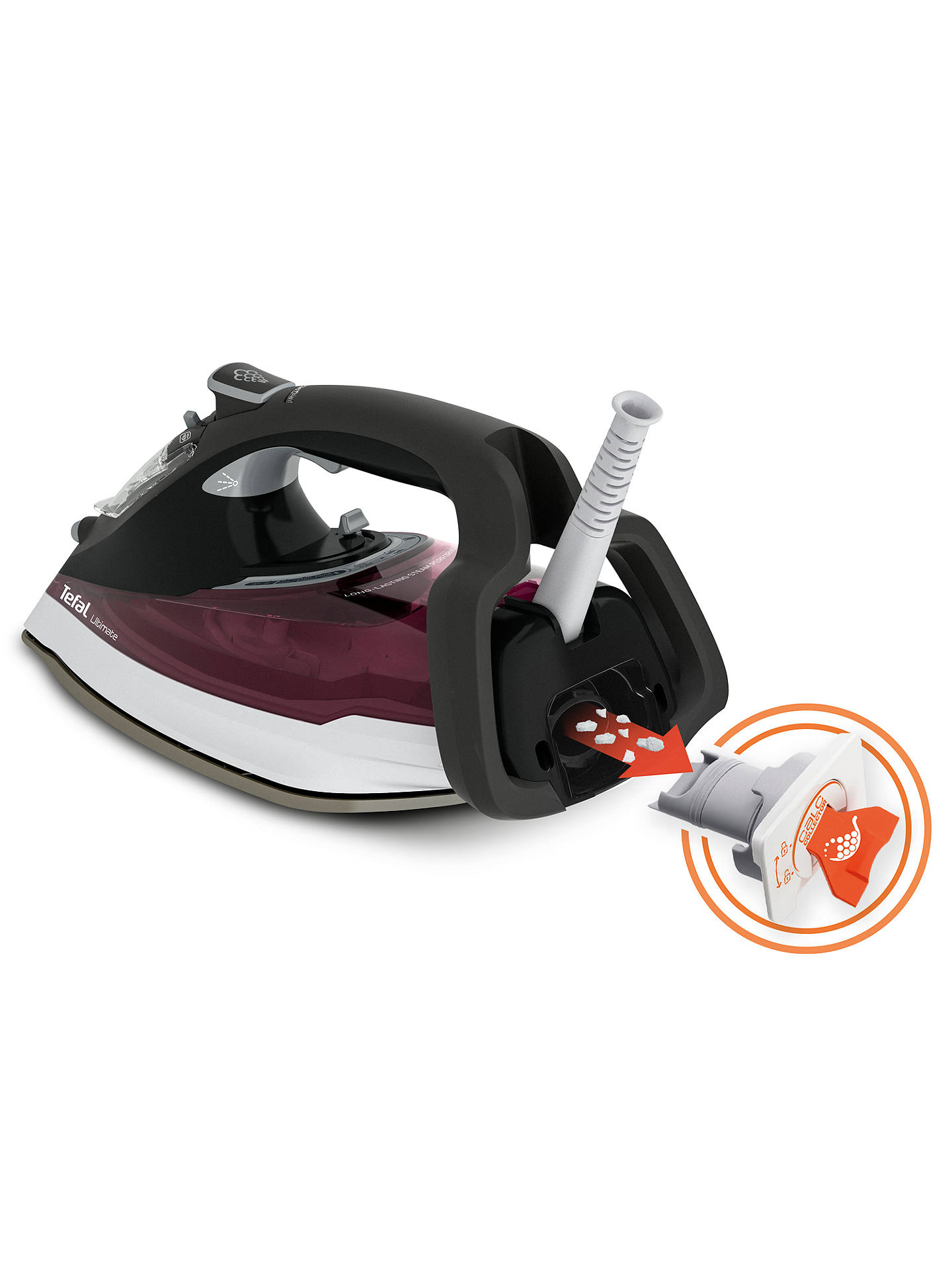 BuyTefal FV9788 Ultimate Anti-Scale Steam Iron Online at johnlewis.com