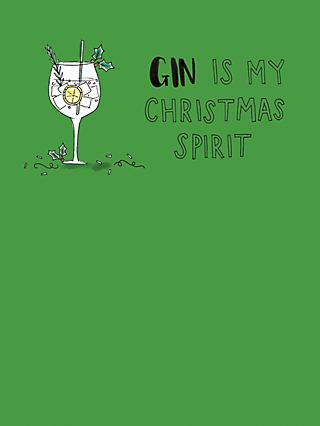 mint gin christmas spirit christmas card - Mint Christmas Cards
