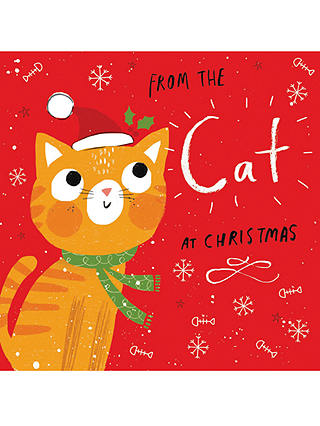 Buy Cardmix From The Cat Christmas Card Online at johnlewis.com