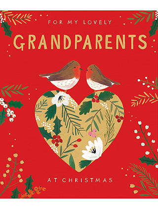 Buy Cardmix Lovely Couple Grandparents Christmas Card Online at johnlewis.com