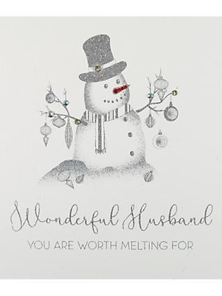 Husband christmas cards john lewis partners five dollar shake wonderful husband christmas card m4hsunfo