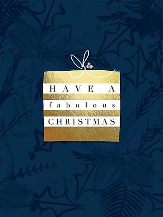 Blank inside greetings cards john lewis partners woodmansterne christmas present christmas card m4hsunfo