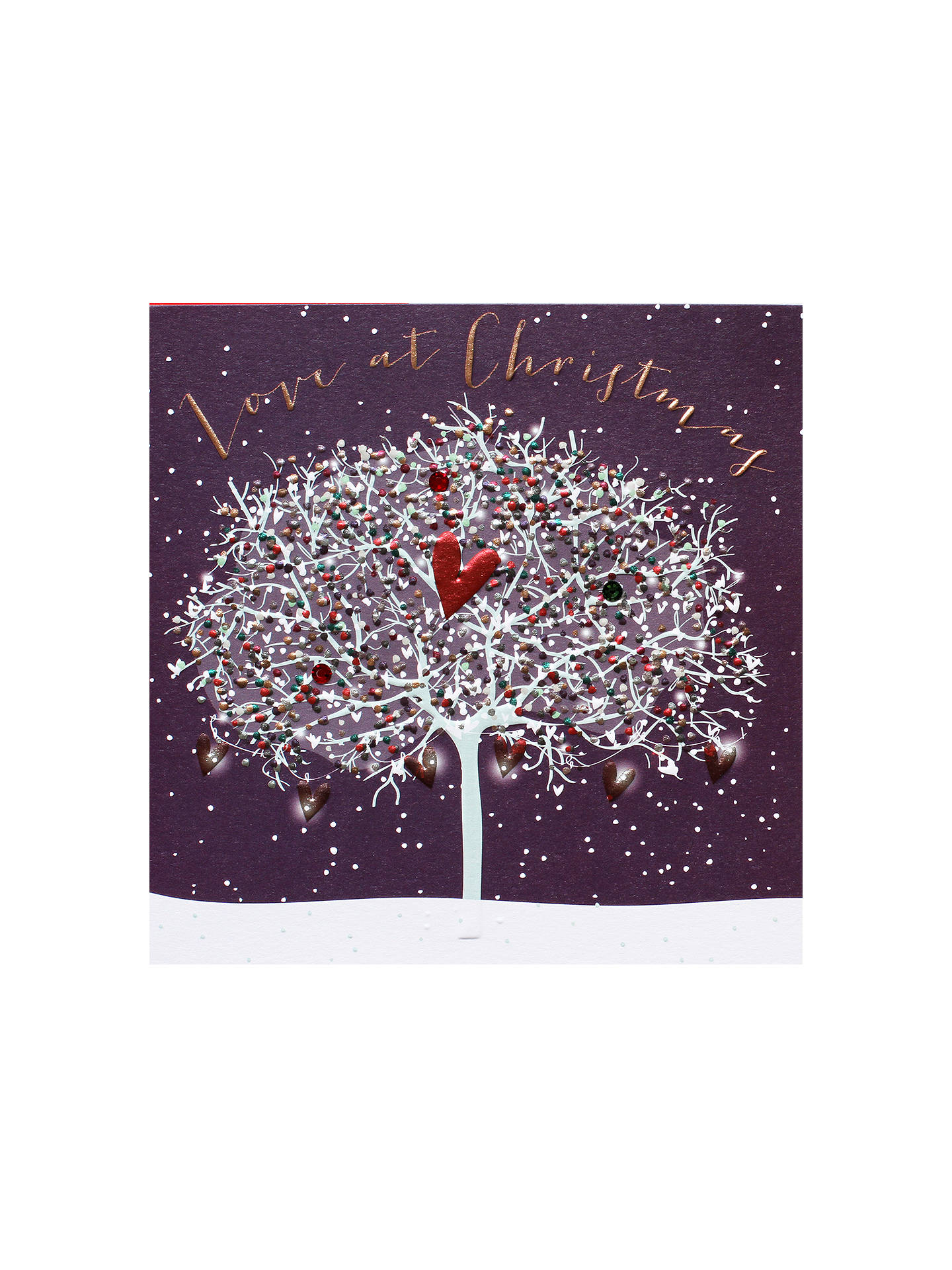 Buy Belly Button Designs Love At Christmas Card Online at johnlewis.com