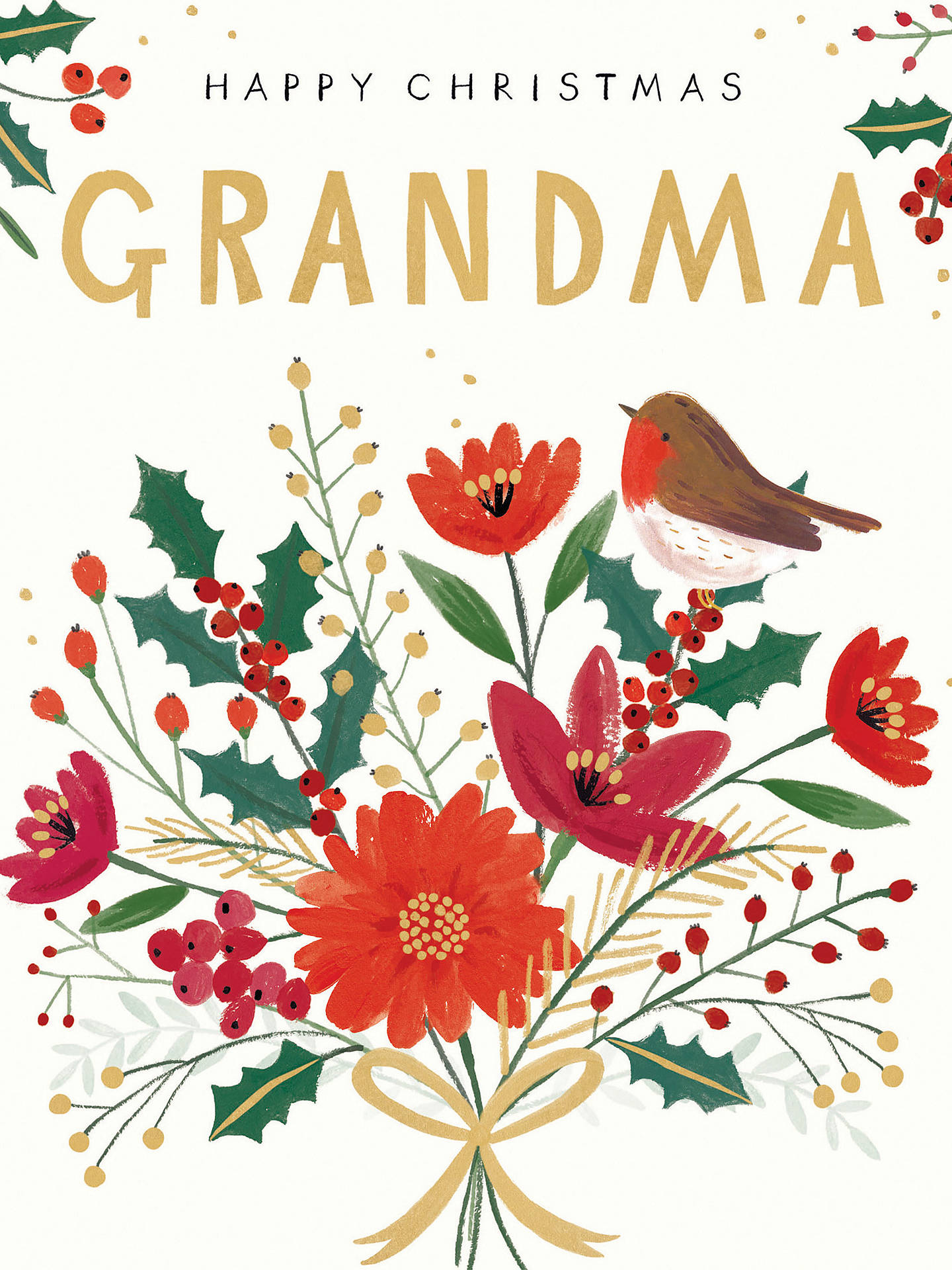 BuyCardmix Grandma Christmas Card Online at johnlewis.com