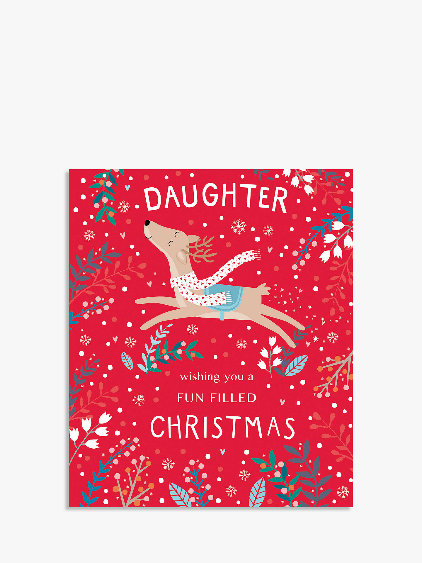 BuyCardmix Special Daughter Christmas Card Online at johnlewis.com
