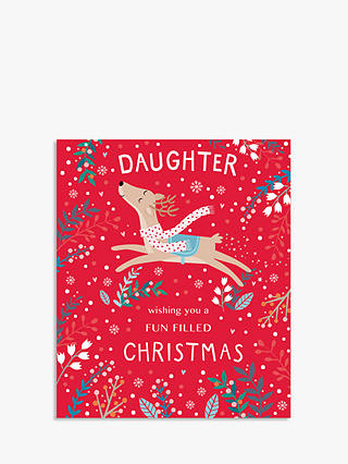 Buy Cardmix Special Daughter Christmas Card Online at johnlewis.com