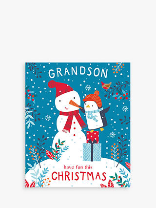 Buy Cardmix Grandson Christmas Card Online at johnlewis.com