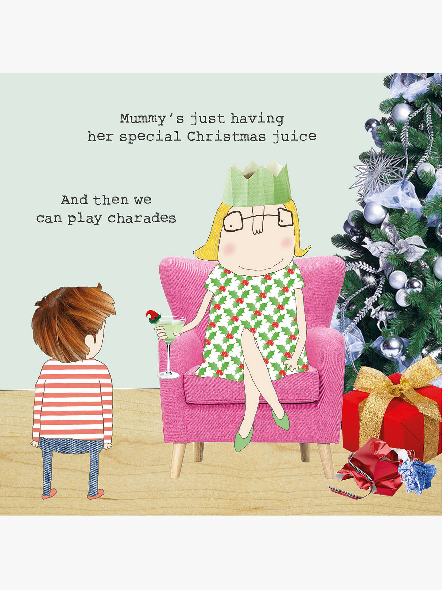 BuyRosie Made A Thing Juice Christmas Card Online at johnlewis.com