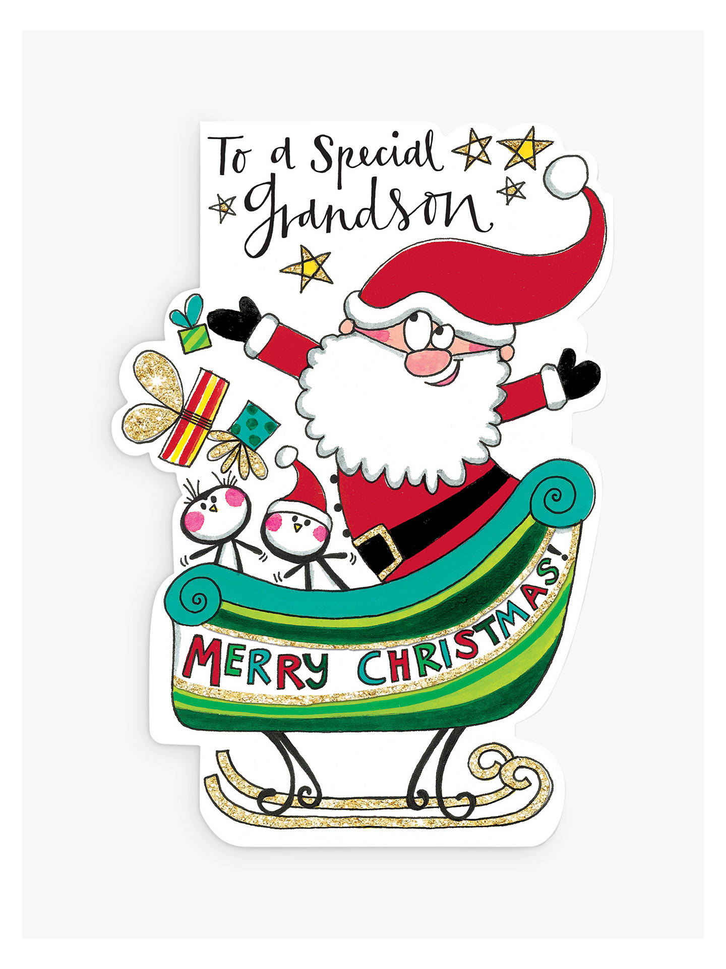 BuyRachel Ellen Special Grandson Christmas Card Online at johnlewis.com