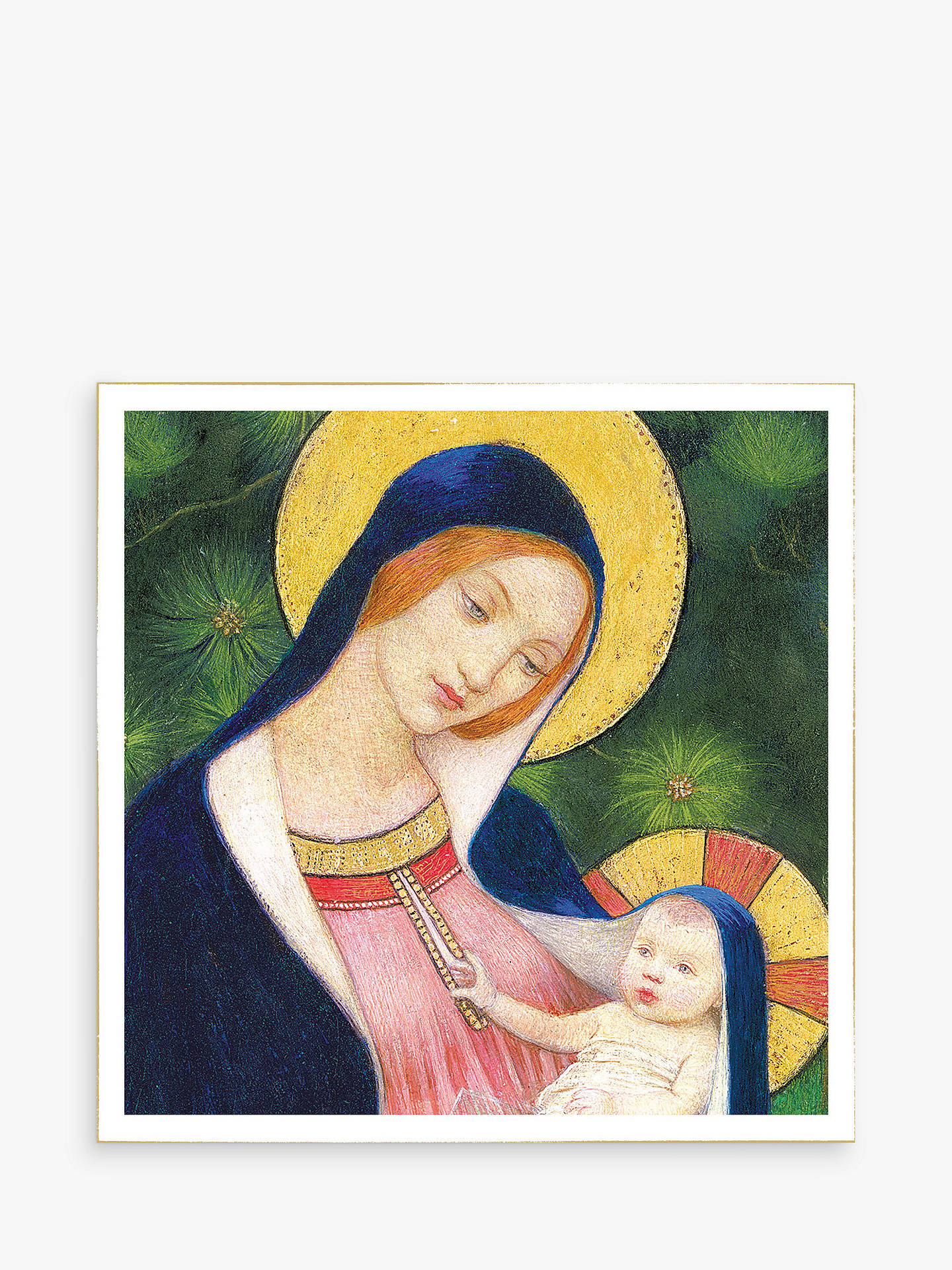 Woodmansterne Madonna With Child Christmas Card at John Lewis & Partners
