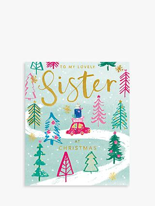 cardmix lovely sister christmas card
