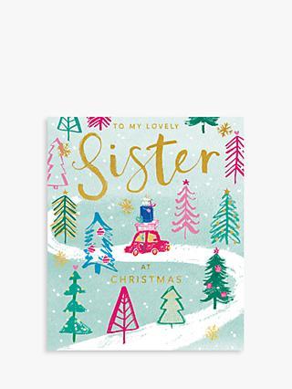cardmix lovely sister christmas card