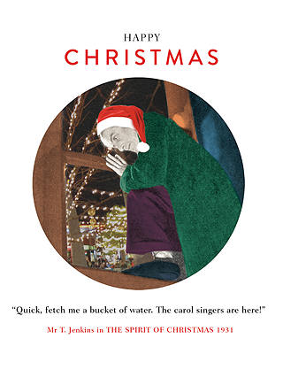 Buy Cardmix Carol Singers Christmas Cards Online at johnlewis.com