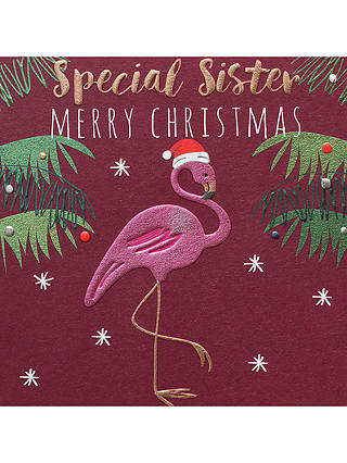 Buy Belly Button Designs Special Sister Christmas Card Online at johnlewis.com