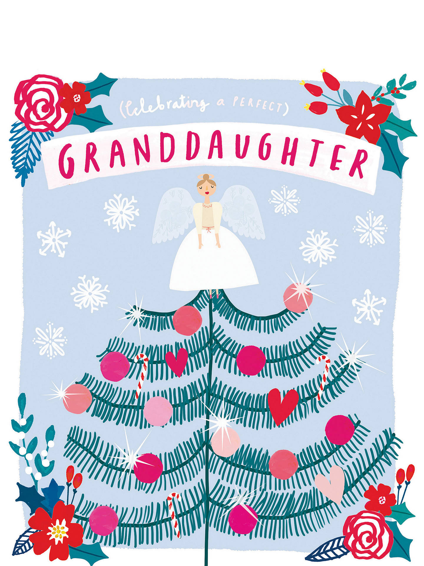 BuyCardmix Perfect Granddaughter Christmas Card Online at johnlewis.com