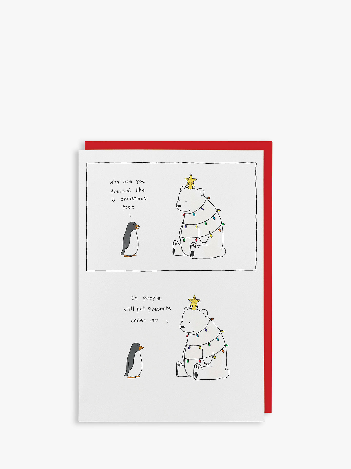 BuyRedback Cards Polar Christmas Card Online at johnlewis.com