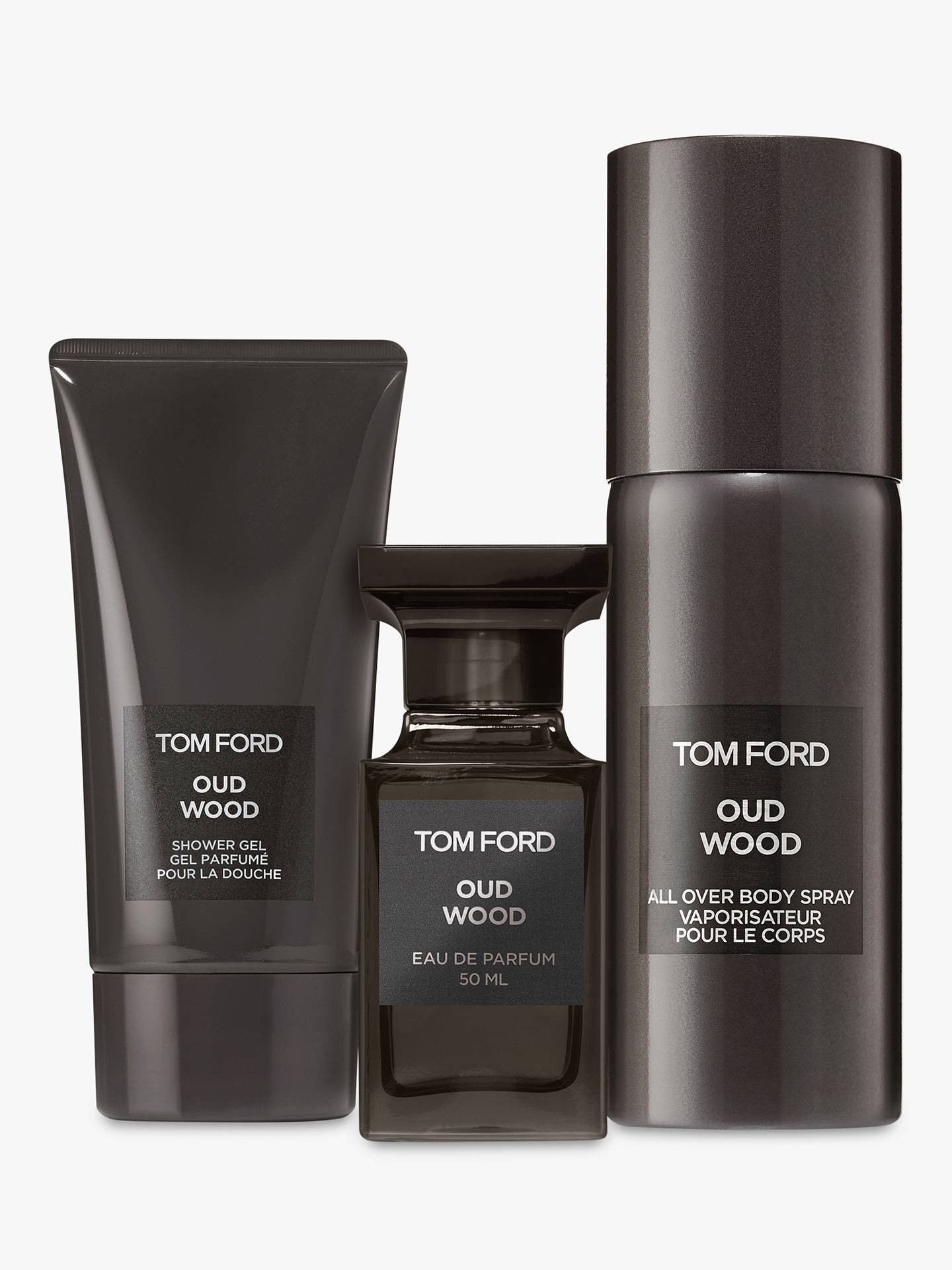 BuyTOM FORD Oud Wood 3 Piece Fragrance Gift Set Online at johnlewis.com