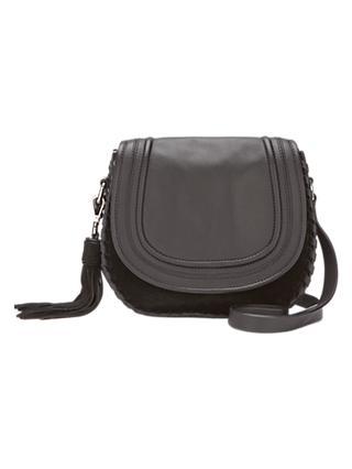 2ddcb70eea76 Mint Velvet Tor Leather Saddle Bag
