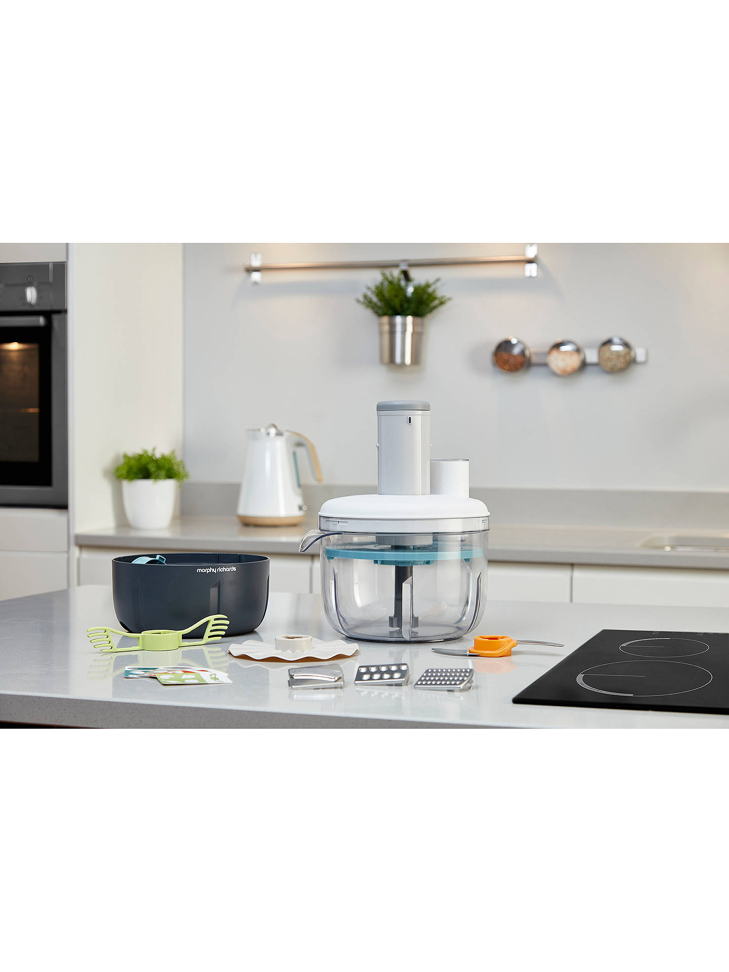 BuyMorphy Richards 401012 Prepstar Food Processor, White Online at johnlewis.com