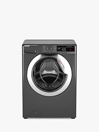 Hoover DXOA49C3R Freestanding Washing Machine, 9kg Load, A+++ Energy Rating, 1400rpm Spin, Black