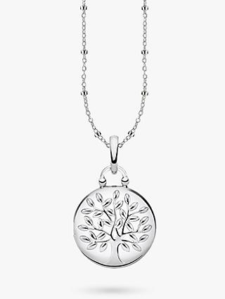 THOMAS SABO Glam & Soul Tree of Love Locket Pendant Necklace, Silver