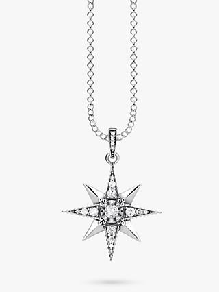 THOMAS SABO Glam & Soul Star Pendant Necklace, Silver