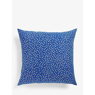 House by John Lewis Metallic Dotty Cushion