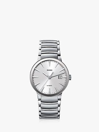 556f6474976 Rado R30939103 Men s Centrix Automatic Stainless Steel Bracelet Strap Watch