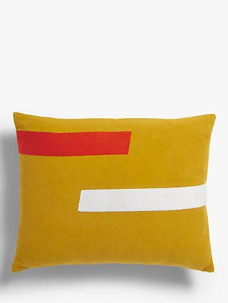 House by John Lewis Two Stripe Cushion