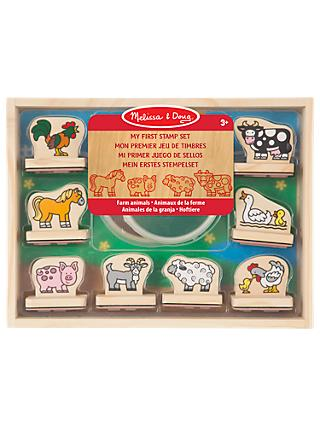 Melissa & Doug My First Stamp Set Farmyard