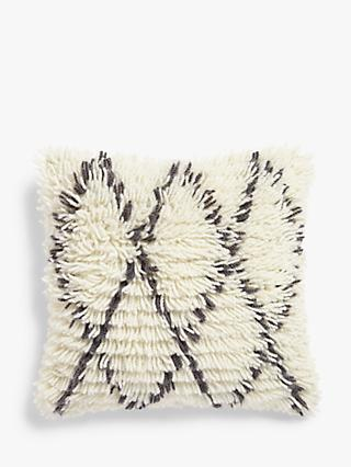 John Lewis & Partners Berber Cushion, Mono