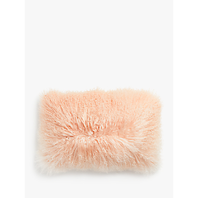John Lewis & Partners Mongolian Sheepskin Ombre Cushion