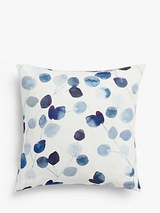 John Lewis & Partners Helmsley Cushion, Blue
