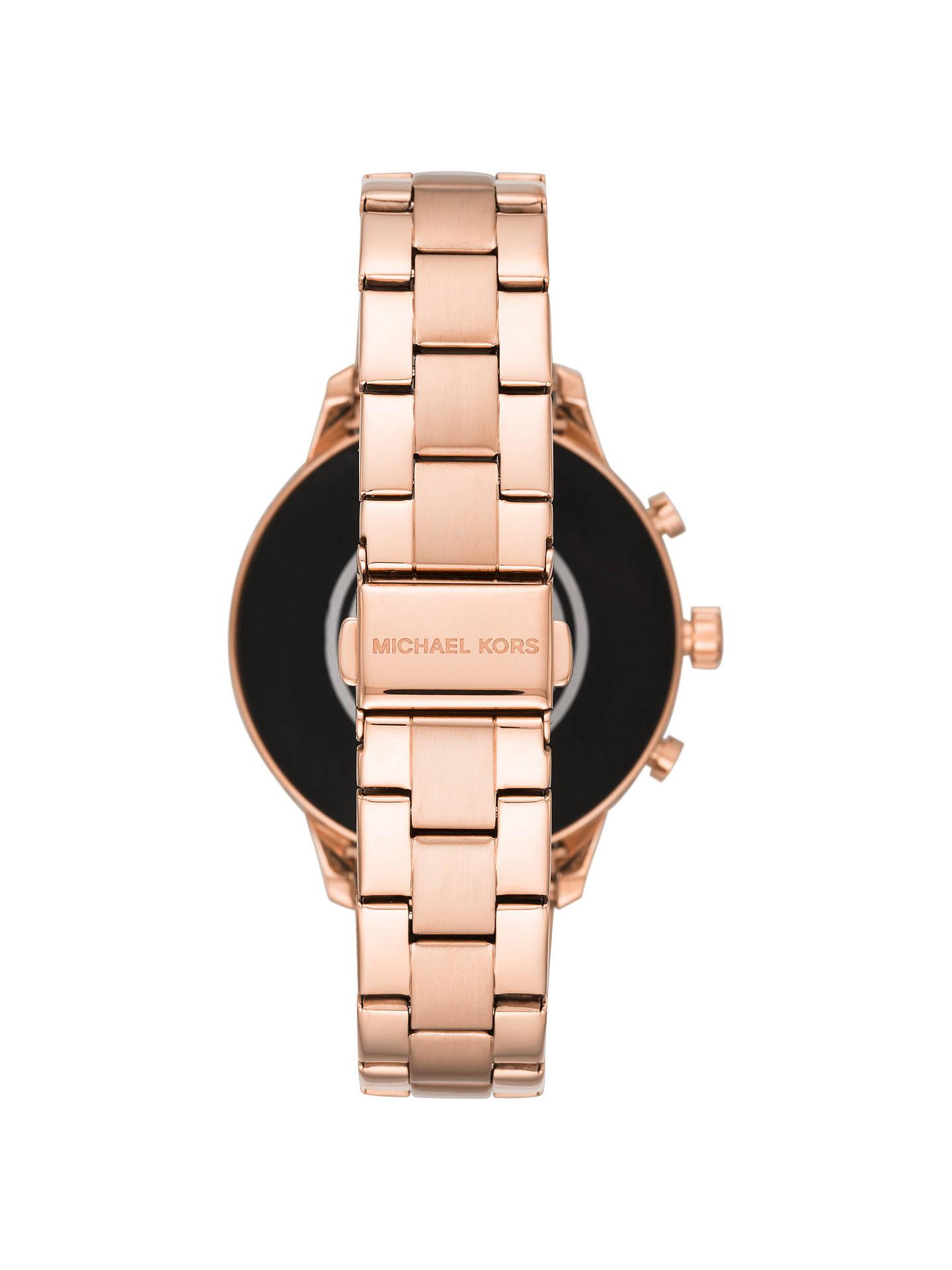 ffe5e755ebd4 ... Buy Michael Kors Access MKT5052 Women s Runway Bracelet Strap Crystal  Smartwatch