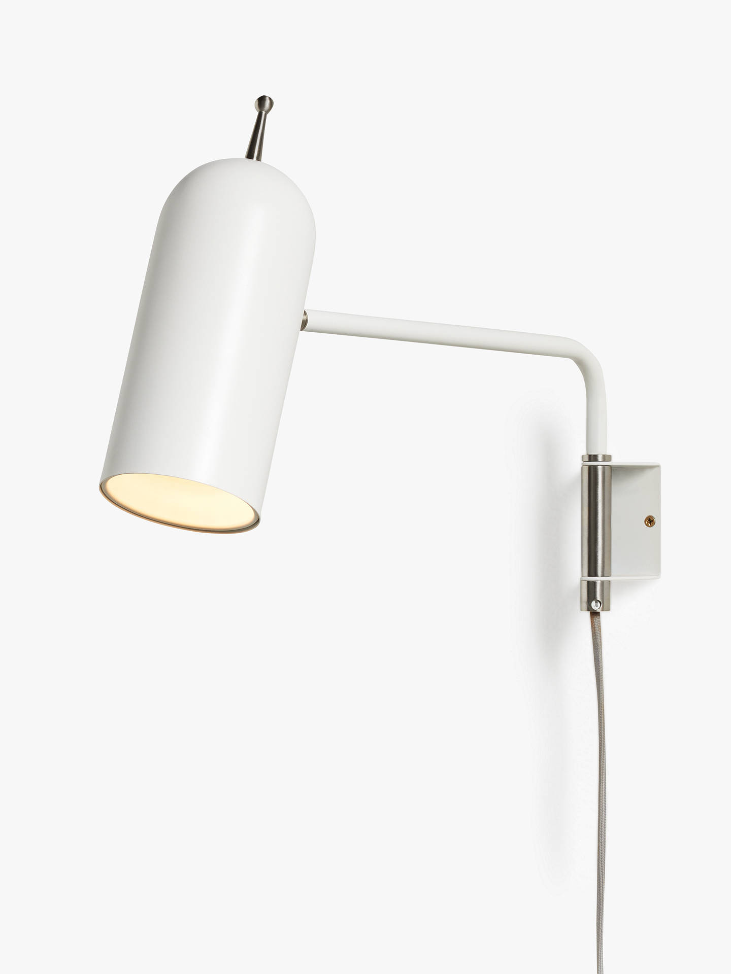 Design Project By John Lewis No 045 Led Wall Light White