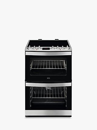 AEG CIB6730ACM Electric Cooker, A Energy Rating, Stainless Steel