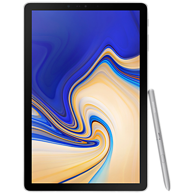 Image of Samsung Galaxy Tab S4 Tablet with S Pen, Android, 64GB, 4GB RAM, Wi-Fi, 10.5