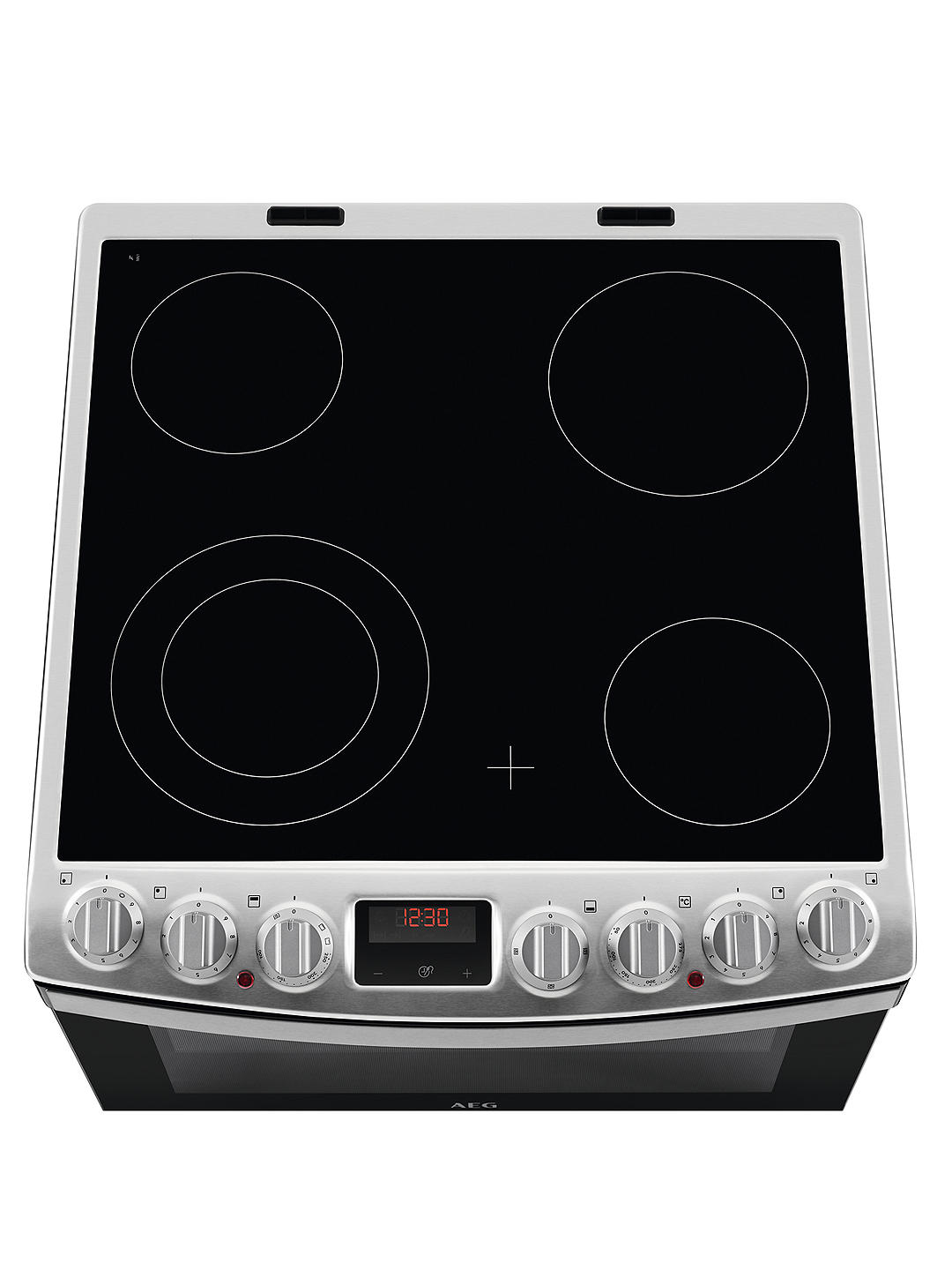 Buy AEG CCB6760ACM Freestanding Electric Cooker, A Energy Rating, 60cm Wide, Stainless Steel Online at johnlewis.com