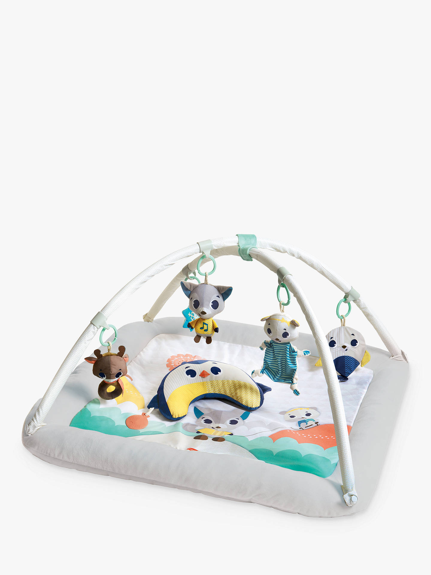 Buy Tiny Love Deluxe Gymini Polar Wonders Plush Activity Gym Online at johnlewis.com