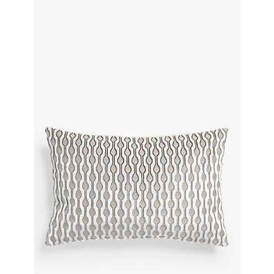 John Lewis & Partners Revina Teardrop Velvet Cushion
