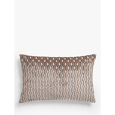 John Lewis & Partners Revina Teardrop Velvet Cushion