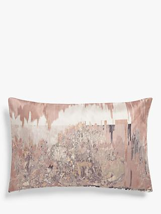 John Lewis & Partners Marciano Embroidery, Pink / Multi