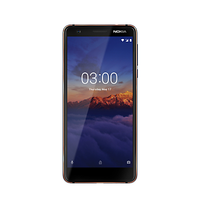 "Image of Nokia 3.1 Smartphone, Android, 5.2"", 4G LTE, SIM Free, 16GB"
